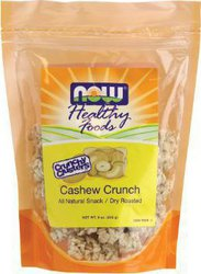 Now Foods Crunchy Clusters Cashew Crunch 9 oz