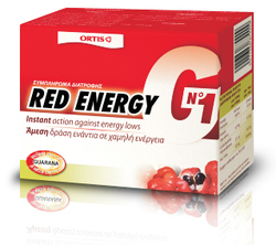 Ortis G1 Red Energy 10x15ml