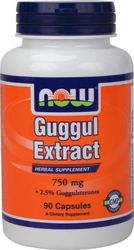 Now Foods Guggul Extract 750mg 90 κάψουλες