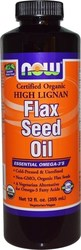 Now Foods Flax Seed Oil 355ml
