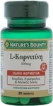 Nature's Bounty L-Carnitine 500mg 30 tabs