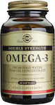 Solgar Omega 3 Double Strength 700mg 60 μαλακές κάψουλες
