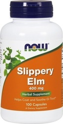 Now Foods Slippery Elm 400mg 100 κάψουλες
