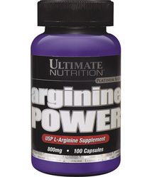 Ultimate Nutrition Arginine Power 800mg 100 κάψουλες