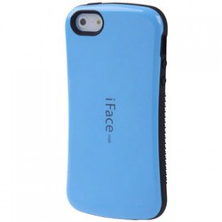 iFace Back Cover Blue (iPhone 5/5s/SE)