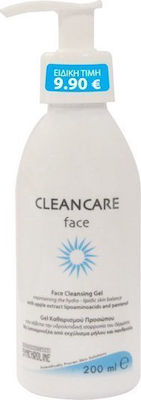 Synchroline Cleancare Face Cleansing Gel with Apple Extract Lipoaminoacids & Panthenol 200ml