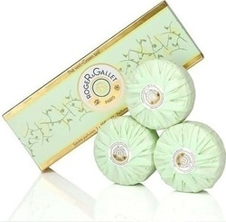 Roger & Gallet Green Tea Soothing Perfumed Soaps 3x100gr