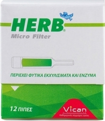 Vican Πίπα Herb Disposable Type Micro Filters 10τμχ