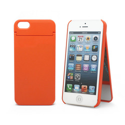 1010plus Mirror Card Cover Orange (iPhone 5/5s/SE)