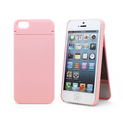 1010plus Mirror Card Cover Pink (iPhone 5/5s/SE)
