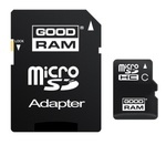 GoodRAM microSDHC 16GB Class 4 with Adapter