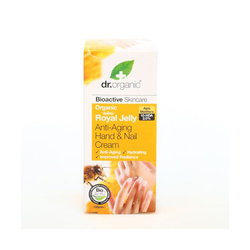 Dr.Organic Royal Jelly Hand & Nail Cream 125 ml