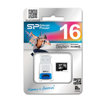 Silicon Power microSDHC 16GB Class 4 with USB Reader