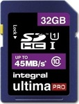 Integral UltimaPro SDHC 32GB U1 (45MB/s)