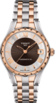 Tissot Ladies Powermatic Two Tone Stainless Steel Bracelet T072.207.22.118.02