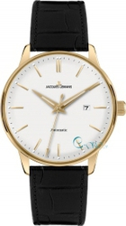 Jacques Lemans Nostalgie Automatic Gold Black Leather N-206B