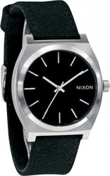 Nixon Time Teller Black Canvas A046-449