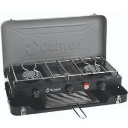 Outwell Deluxe 3 Burner Stove & Toaster