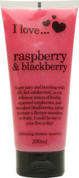 I Love Cosmetics Exfoliating Shower Smoothie Rasberry&Blackberry 200ml
