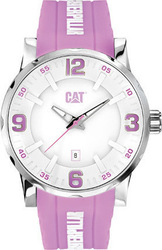 CAT Bold Pink Rubber Strap NJ24123233