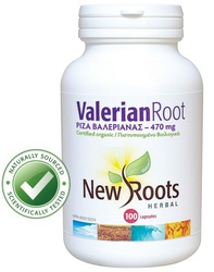 New Roots Valerian Root 470mg 100 tabs