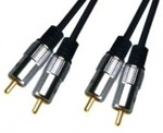D&S Audio Cable 2x RCA male - 2x RCA male 1.5m (APA2003)