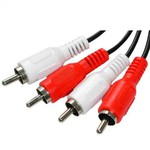 OEM Audio Cable 2x RCA male - 2x RCA male 0.75m