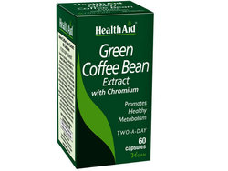 Health Aid Green Coffee Bean with Chronium 60 κάψουλες