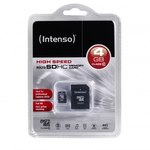 Intenso microSDHC 4GB Class 10 with Adapter