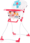 Chipolino High Chair Party Pink