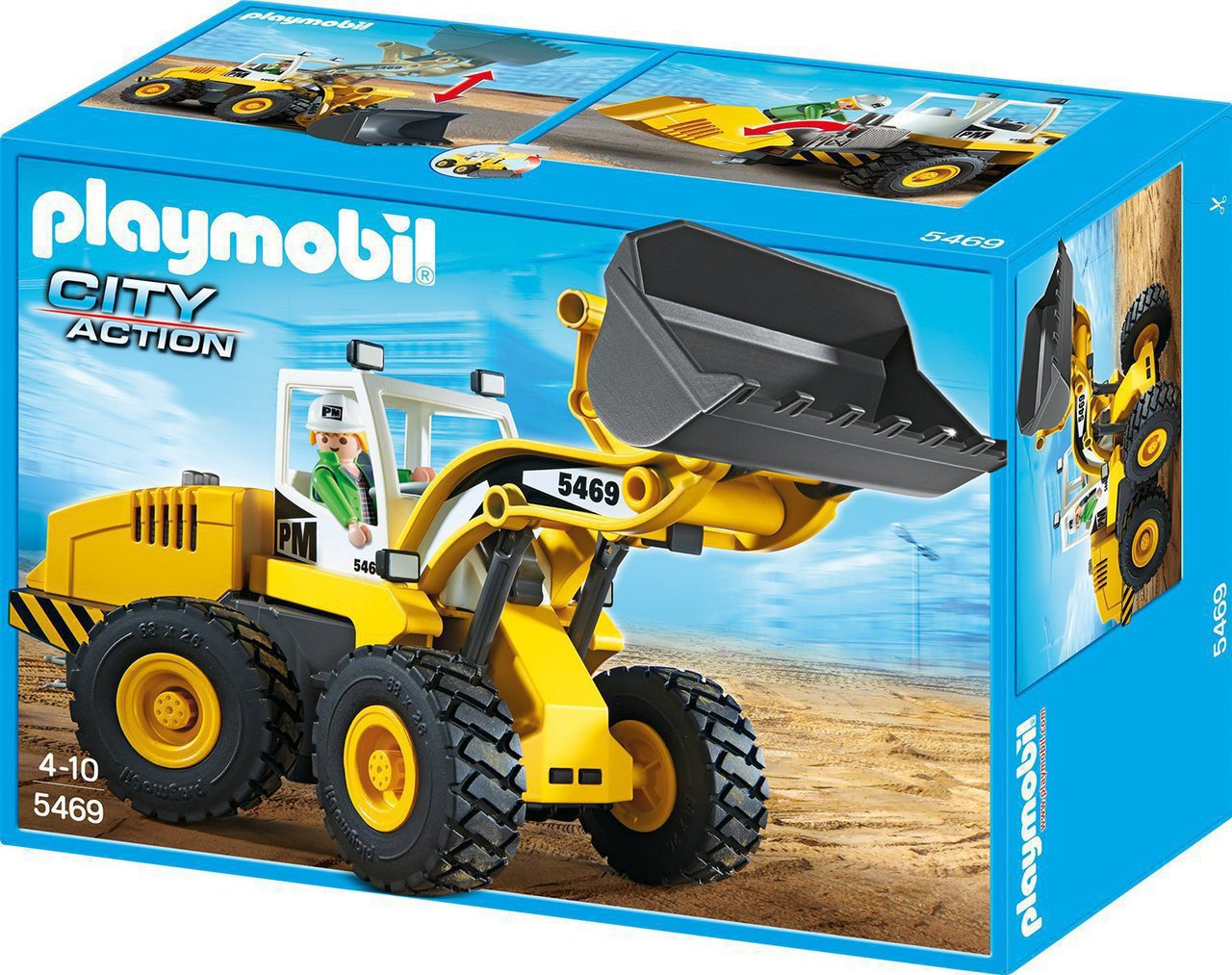 05486294da6 Playmobil Μεγάλη Μπουλντόζα