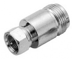 Ultimax F-Connector male - N-Connector female (V7244)