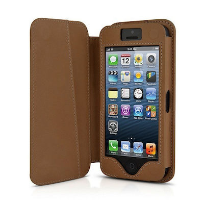 BeyzaCases Folio Cover Classic Tampa (iPhone 5/5s/SE)