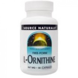 Source Naturals L-Ornithine 50 tabs