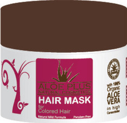 Aloe Plus Natural Cosmetics Mask For Colored Hair 200ml