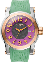 Vogue Joy Green Rubber Strap 17302.1