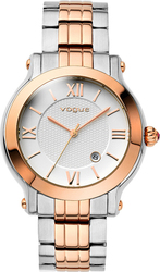 Vogue Grace Crystals Two Tone Stainless Steel Bracelet 77006.1
