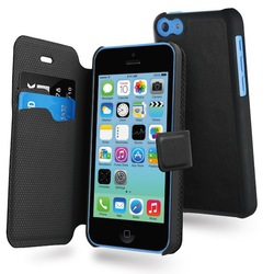 Muvit Magic Folio Case Black (iPhone 5C)