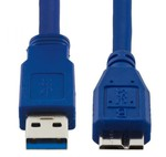 Esperanza Regular USB 3.0 to micro USB Cable Μπλε 1m (EB159)