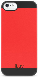 iLuv FlightFit Dual Layer Red (iPhone 5/5s/SE)