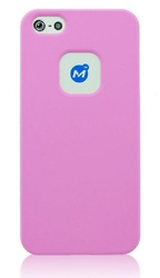 Momax Ultra Tough Soft Case Pink (iPhone 5/5s/SE)