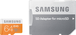 Samsung Evo microSDXC 64GB U1 with Adapter