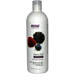 Now Foods Berry Full Shampoo Σαμπουάν για Μαλλιά με Όγκο 473ml