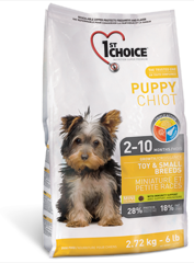 1st Choice Puppy Small & Toy 2.72kg