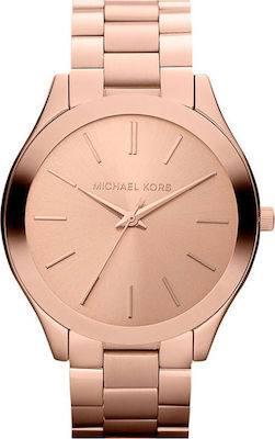 Michael Kors Slim Runway Gold Rose Bracelet