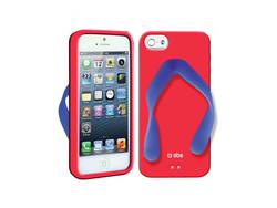 SBS Back Cover Tropical Red Blue (iPhone 5/5s/SE)