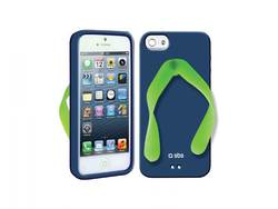 SBS Back Cover Tropical Blue Green (iPhone 5/5s/SE)