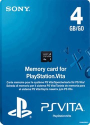 Sony Memory Card 4GB (PS Vita)
