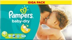 Pampers Baby Dry Giga Pack No 4 (7-18Kg) 120τμχ