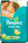 Pampers Baby Dry No 4 (7-18Kg) 42τμχ